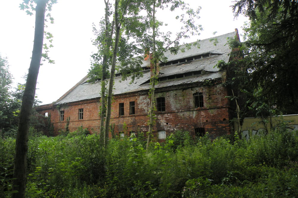 Der ehemalige Kuhstall des Ritterguts Großzschocher. Foto: Marko Hofmann