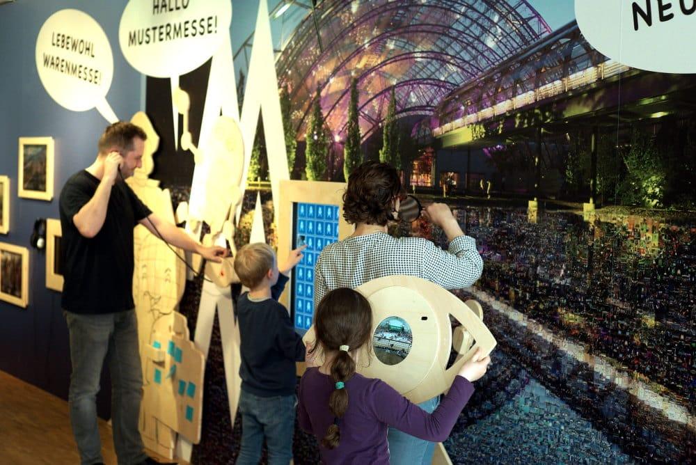 Familienausflug ins Kindermuseum des Stadtgeschichtlichen Museums Leipzig mit der Mitmach-Ausstellung