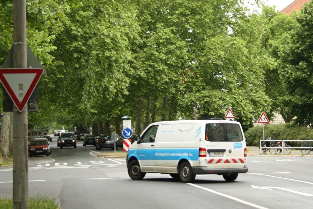 Naunhofer Straße in Stötteritz. Archivfoto: Ralf Julke