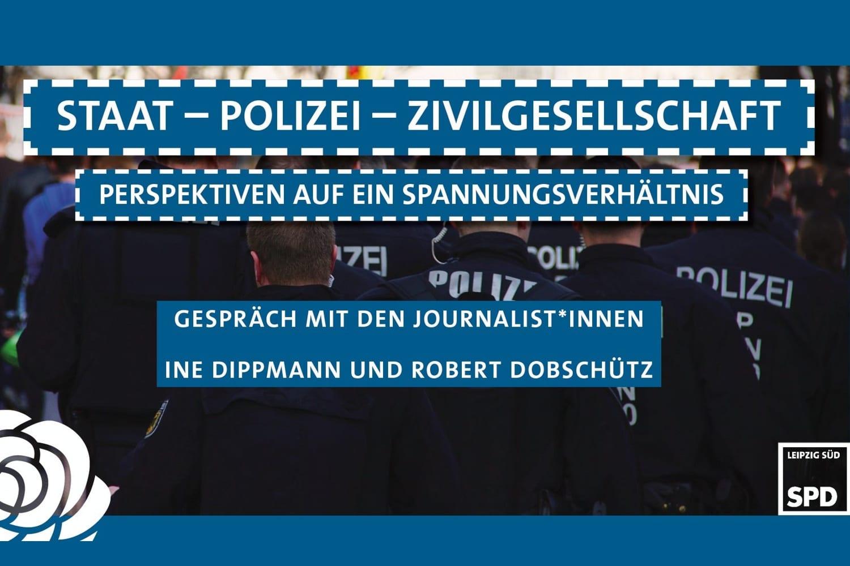 Am 10. Juni 2021, Debatte über Polizei und Presse. Foto: SPD Leipzig