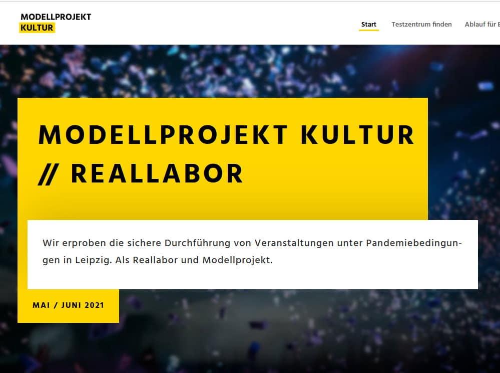 Modellprojekt Kultur // Reallabor. Screenshot: LZ