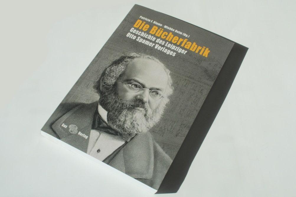 Patricia F. Blume, Wiebke Helm (Hrsg.): Die Bücherfabrik. Foto: Ralf Julke