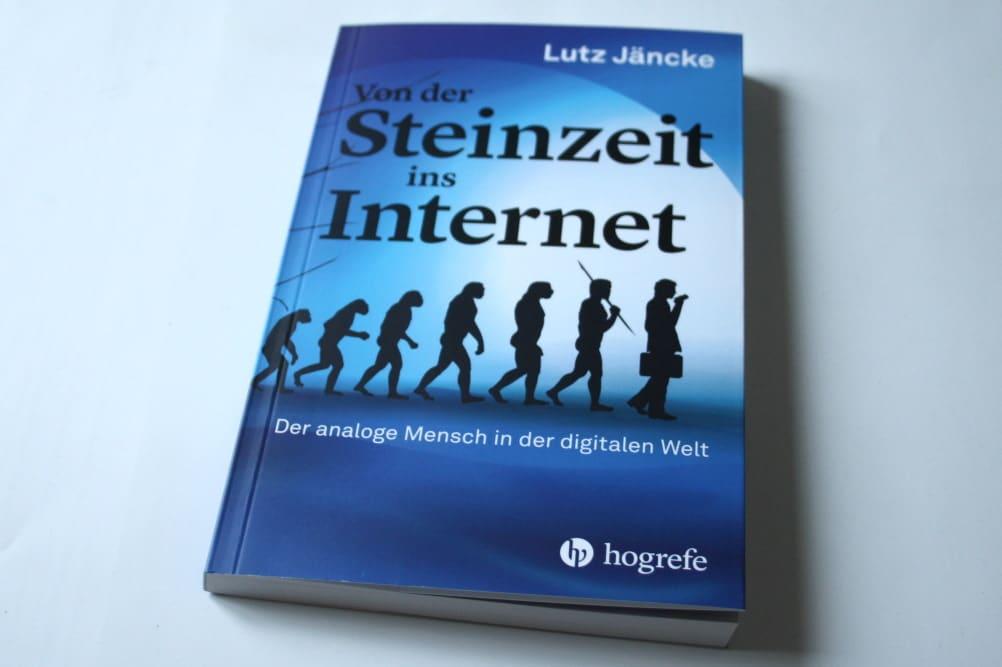 Lutz Jäncke: Von der Steinzeit ins Internet. Foto: Ralf Julke