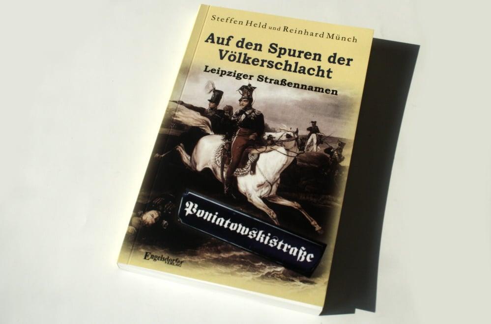 Stefen Held, Reinhard Münch: Auf den Spuren der Völkerschlacht. Foto: Ralf Julkre