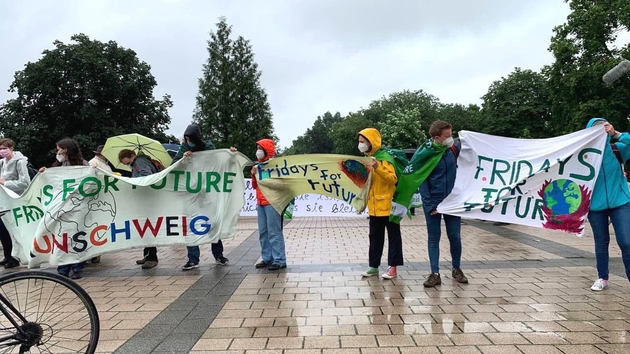 Eine Gruppe war aus Braunschweig angereist. Foto: LZ