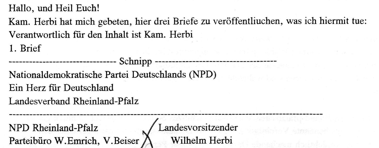 """""""Heil Euch"""" im Jahr 1996. Quelle: Vereinigung der Verfolgten des Naziregimes - Bund der Antifaschistinnen und Antifaschisten (VVN-BdA)"""