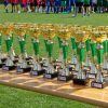 Der Tag der Pokale - der Siegerpokal ging in diesem Jahr nach Israel. Foto: LZ