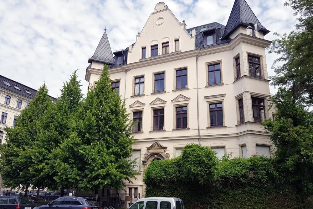 Villa in der Shakespearestraße. Foto: Alexander Laboda