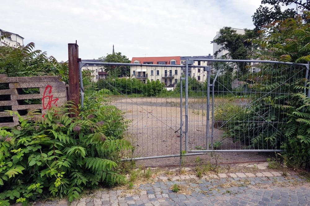 LWB-Bauland in unmittelbarer Nähe. Foto: Alexander Laboda