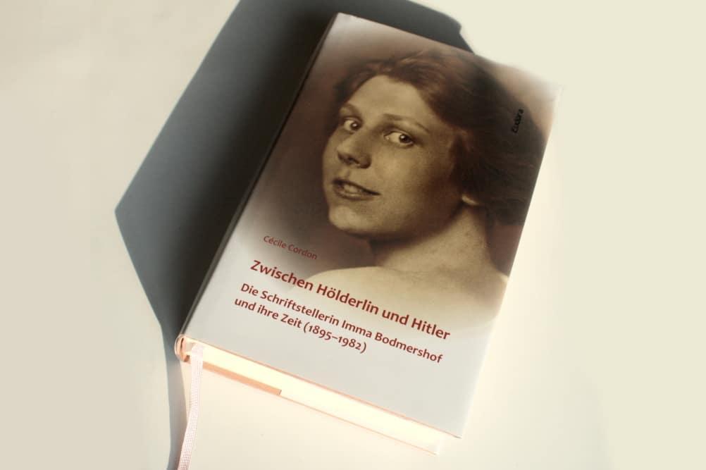 Cécile Cordon: Zwischen Hölderlin und Hitler. Foto: Ralf Julke