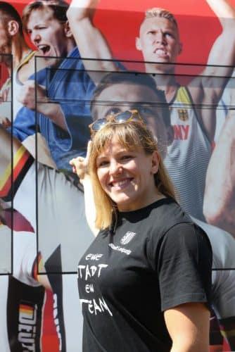 Judo, Marie Branser machte ihren Olympia-Traum wahr. Foto: Jan Kaefer