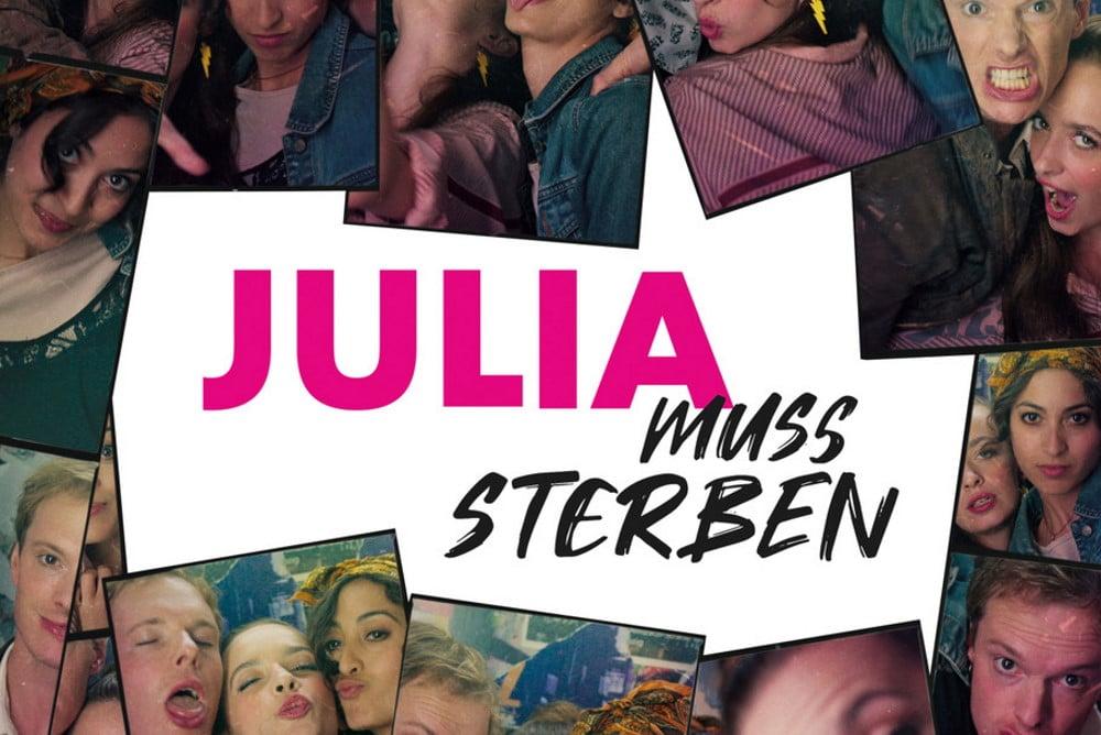"""Ausschnitt aus dem Kinoplakat """"Julia muss strerben"""". Grafik: In One Media"""
