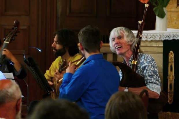 Konzert mit all'improvviso und Ian Harrison. Foto: Rainer Schilling