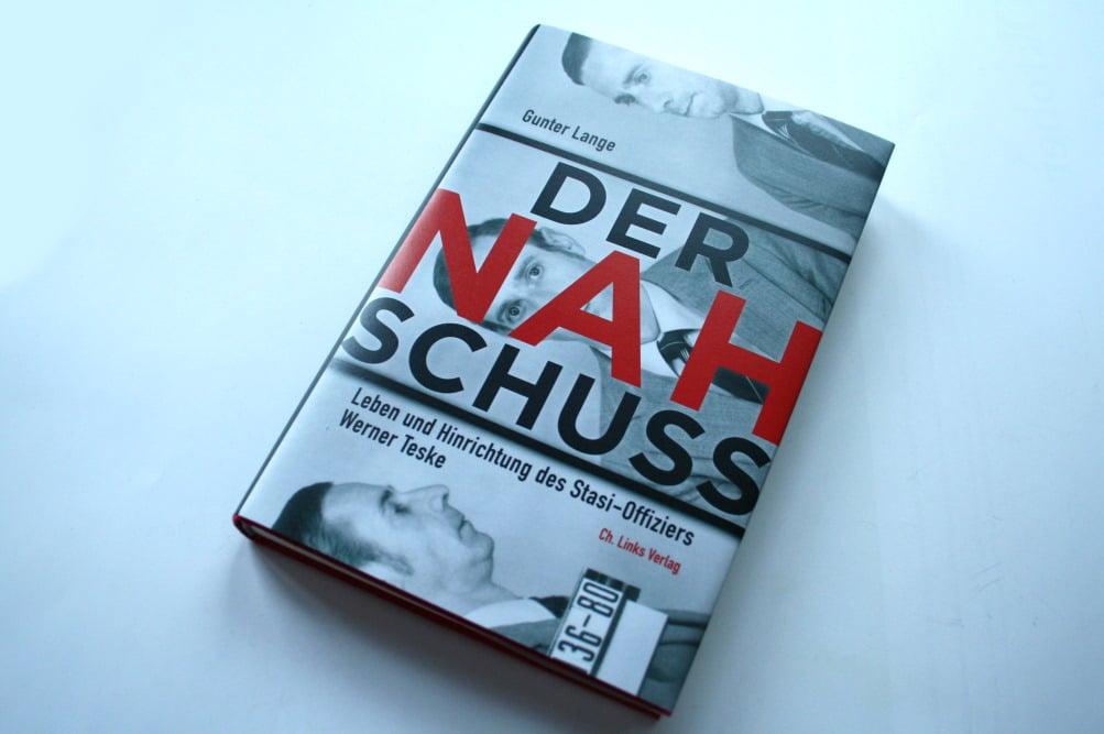 Gunter Lange: Der Nahschuss. Foto: Ralf Julke