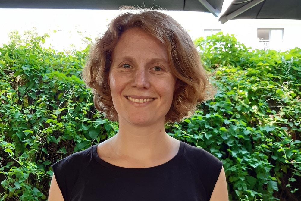 Nina Treu, Direktkandidatin der Linkspartei zur Bundestagswahl 2021 im Wahlkreis Leipzig-Nord