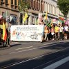 Die Soli-Demo des Rojava-Bündnis Leipzig am 21. August 2021 auf der Eisenbahnstraße. Foto: LZ