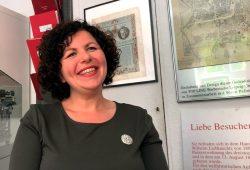 Amira Mohamed Ali, Fraktionsvorsitzende der Linken im Bundestag. Foto: LZ
