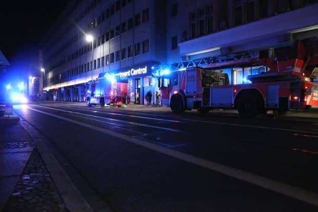 Feuerwehreinsatz am 2. August 2021 am Apartment Central. Foto: LZ