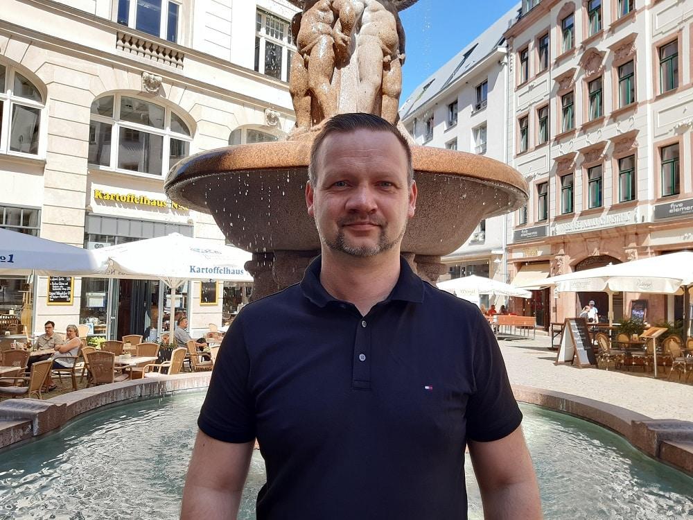 Peter Jess kandidiert im Wahlkreis Leipzig-Süd für die FDP bei der Bundestagswahl 2021.
