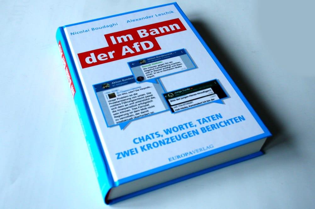 Nicolai Boudaghi, Alexander Leschik: Im Bann der AfD. Foto: Ralf Julke