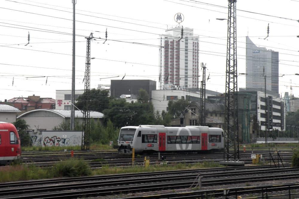Regionalzug auf dem Abstellgleis. Foto: Michael Freitag