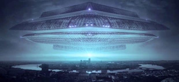 Das klassische Szenario von Science-Fiction-Autoren: Ein fremdes Raumschiff erreicht die Erde. Wer sind die Besucher - und kommen sie in friedlicher Absicht? Foto: Pixabay