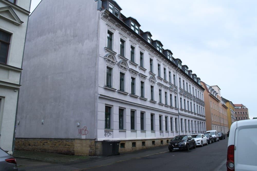 Die Spittastraße 19 in Lindenau. Foto: Ralf Julke