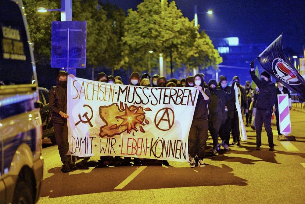 Das Motto der Demo am 27.9.2021 in Leipzig. Foto: LZ