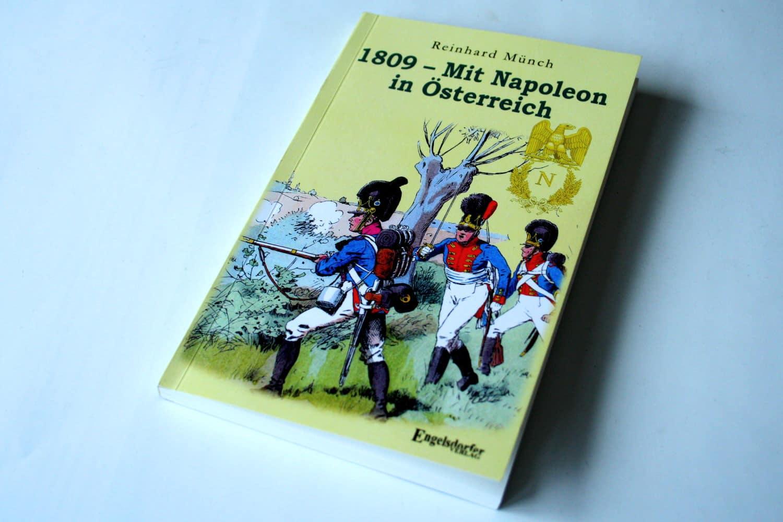 Reinhard Münch: 1809 - Mit Napoleon in Österreich. Foto: Ralf Julke