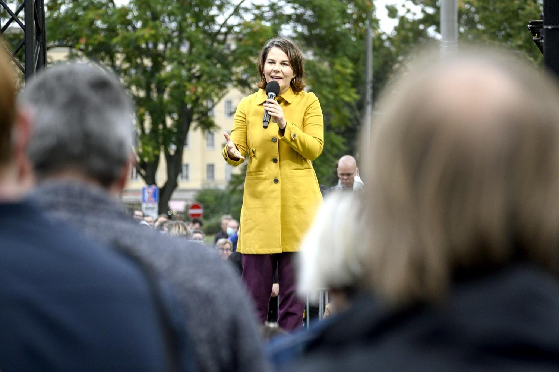 Annalena Baerbock, Kanzlerkandidatin der Grünen. Foto: Tim Wagner
