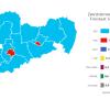 Die Ergebnisse der Bundestagswahl in Sachsen nach 1 Uhr am 27. September 2021. Screenshot: wahlen.sachsen.de