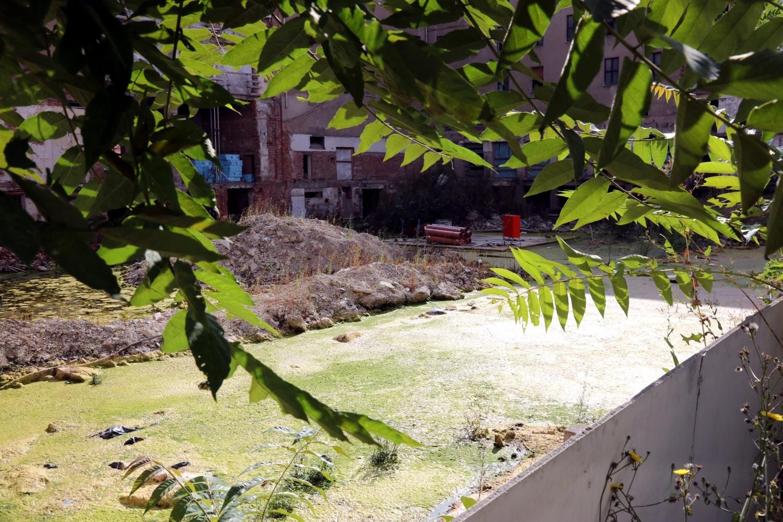 Früher beförderten Pumpen das Wasser aus dem Astoria, heute sind sie nicht mehr da. Foto: LZ