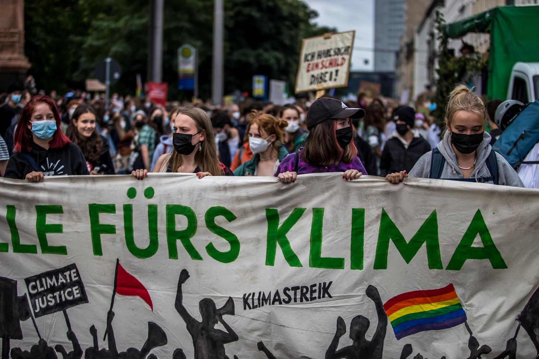 Klimastreik 24.9.2021 Foto: Tilly Domian