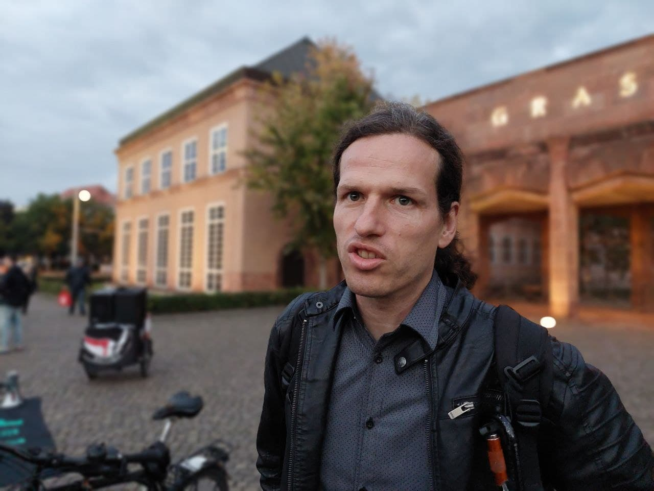 Jürgen Kasek (Stadtrat, Grüne, LnP). Foto: LZ