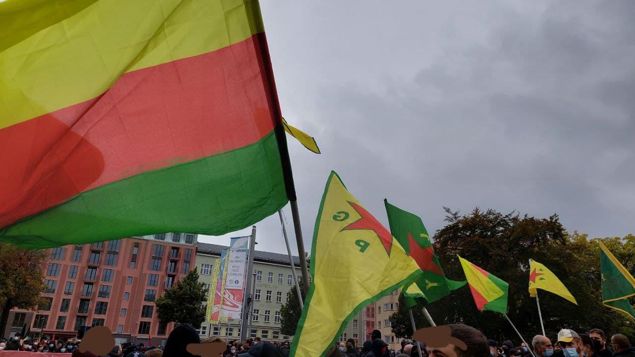 """Kurdische Unterstützung durch das """"Solibündnis Rojava"""""""