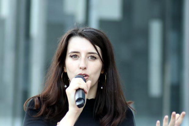 Marie Müser (B90/Die Grünen). Foto: LZ