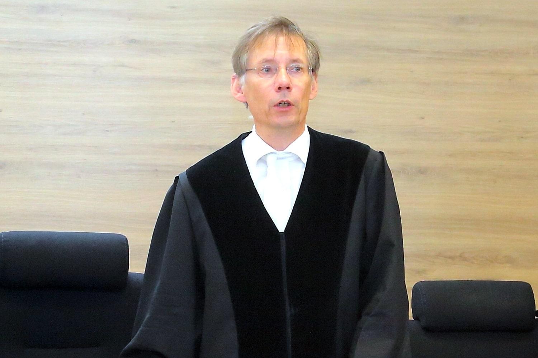 Der Vorsitzende Richter im Prozess gegen die