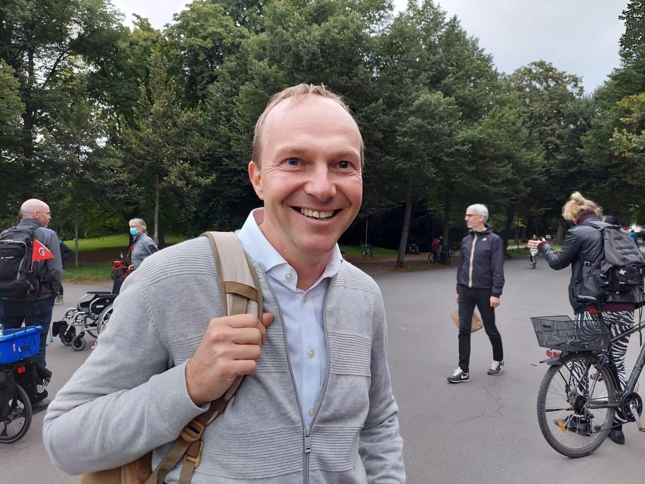 Umweltminister in Sachsen: Wolfram Günther (B90/Die Grünen). Foto: LZ