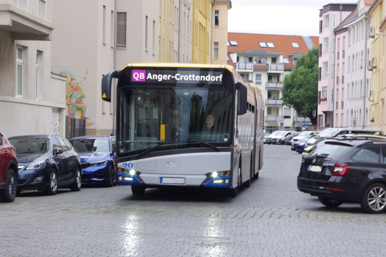 Ein Quartierbus für Anger-Crottendorf. Foto: Bürgerverein Anger-Crottendorf
