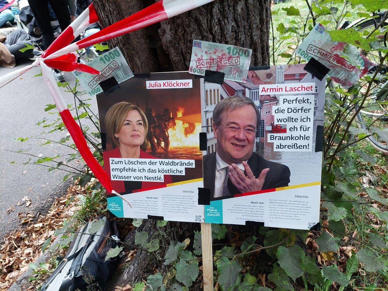 Der Klimastreik am 24.09.2021 in Leipzig: 16 verpasste Jahre in Sachen Klimaschutz hatten einen Adressaten. Foto: LZ
