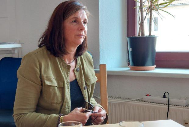 Katrin Göring-Eckardt im Gespräch mit der L-IZ. Foto: LZ
