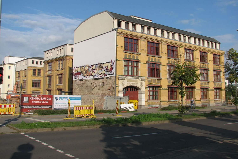 Industriebau-Ensemble Ludwig-Erhard-Straße 21. Foto: Holger Zürch