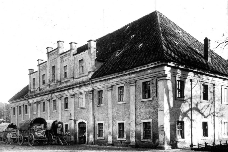 Großmühle Grimma um 1920. Foto: Kreismuseum Grimma