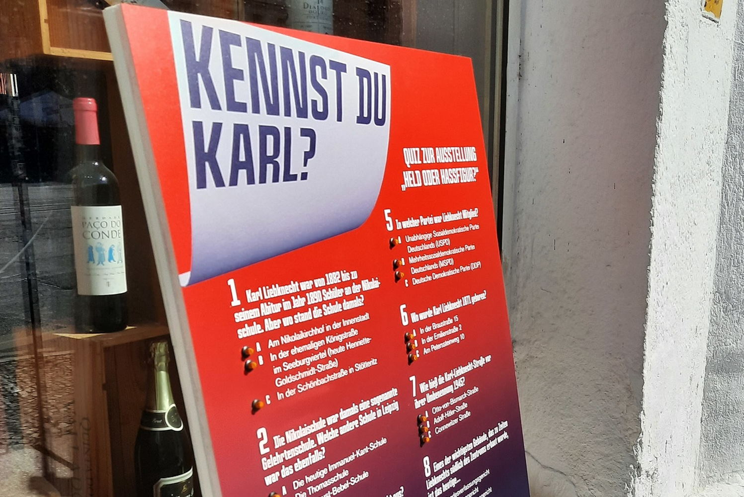 Rätselspiel des Stadtgeschichtlichen Museums am Südplatz: Kennst du Karl? Foto: SGM, Tim Rood