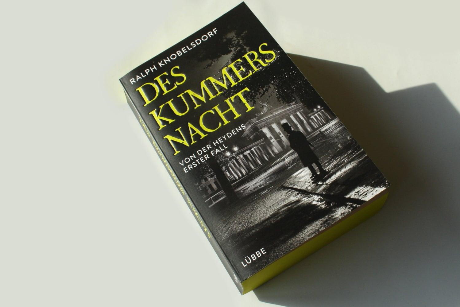 Ralph Knobelsdorf: Des Kummers Nacht. Foto: Ralf Julke