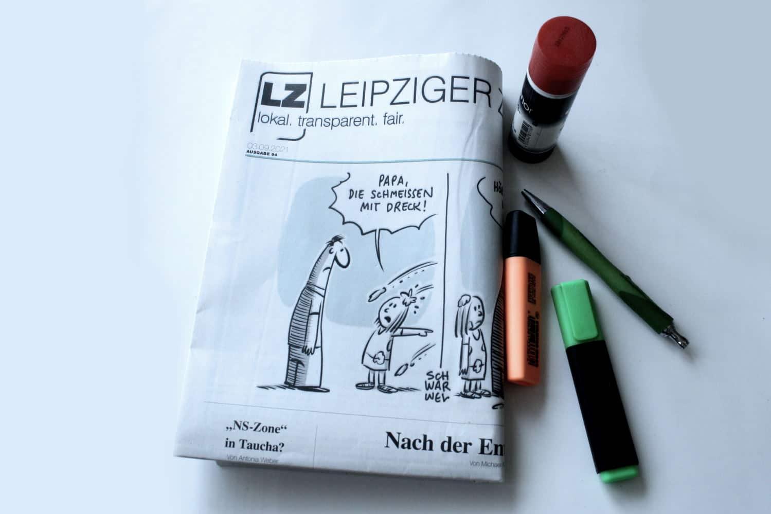 Leipziger Zeitung Nr. 94: Nach der Entfremdung. Foto: LZ