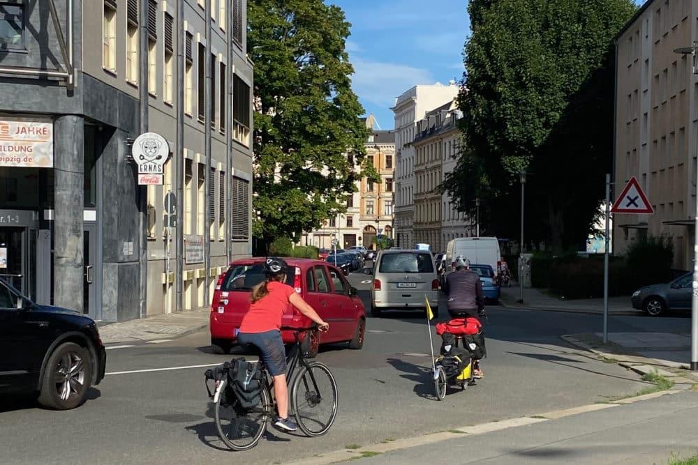 Blick in die enge Mahlmannstraße. Foto: Christoph Schetelich