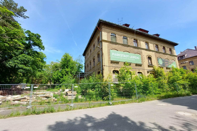 Im Gelände der künftigen Parkstadt Dösen. Foto: LZ