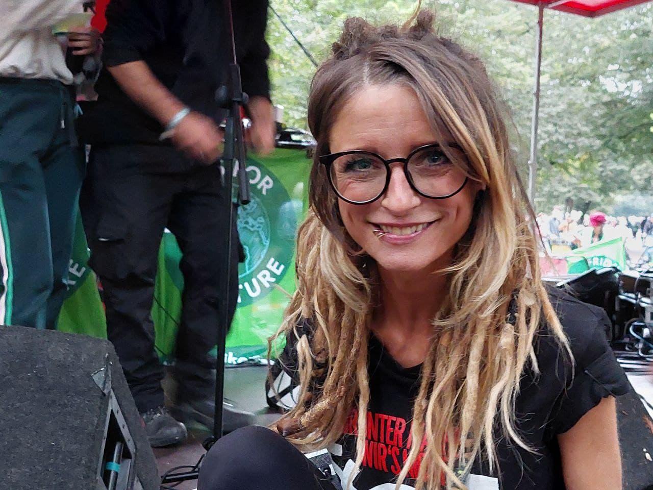 Sarah Lesch Klimastreik