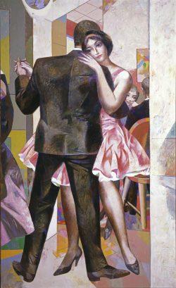 Willi Sitte, Tanzendes Paar, 1961. Foto: Galerie Schwind